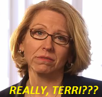 Terri Lynn Land attacks Gary Peters for holding stock in a company she herself owns stock in