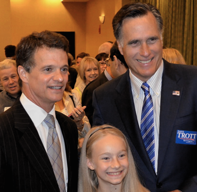 Mitt Romney endorses David Trott for MI-11. Again.