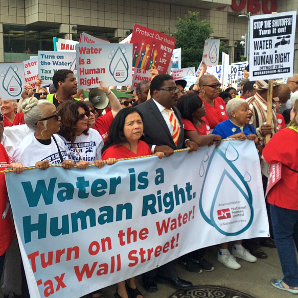 UPDATED x3: Despite supposed moratorium, Detroit water shutoffs continue