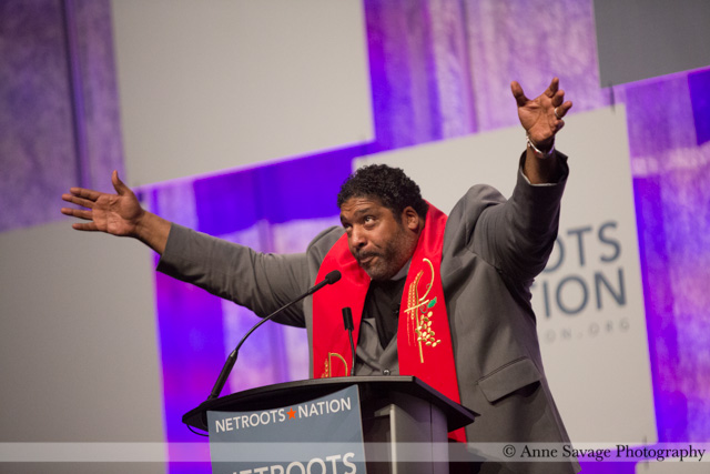 VIDEO: The riveting speech of  the Rev. William Barber, leader of the Moral Mondays movement, at Netroots Nation