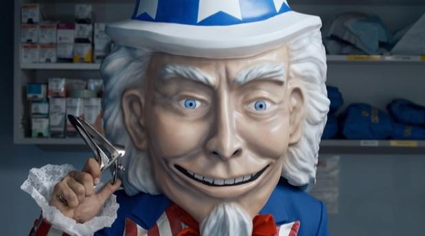 Creepy Uncle Sam