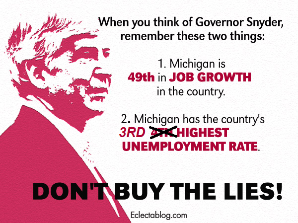 Michigan unemployment rate up, now 3rd highest in the country