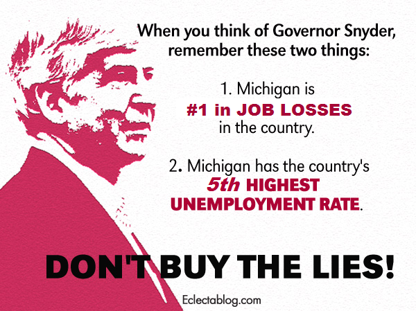 Michigan led the country in job losses in August, tied for 5th highest unemployment rate