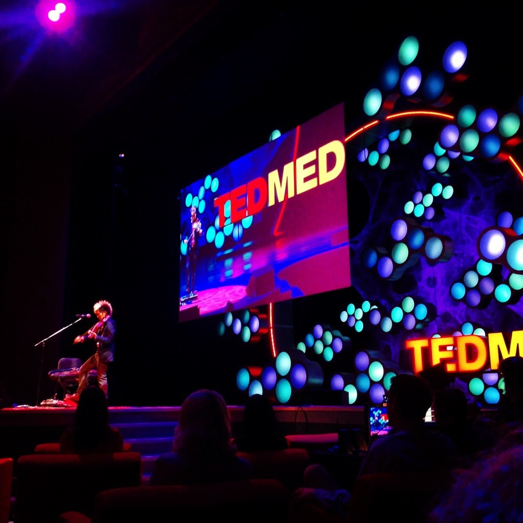 Follow me to TEDMED for an inside look at the future of health and medicine