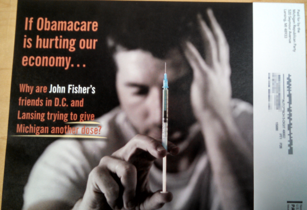 Michigan GOP goes to the gutter, sends mailer asking people to call Dem candidate's mother who is in hospice care (UPDATED)