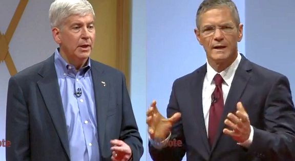 """GUEST POST: Observations from a Schauer/Snyder debate attendee: """"The atmosphere was completely different than on TV"""""""