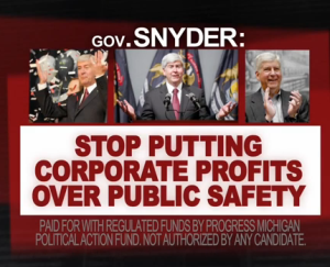 VIDEO: New ad highlights the Snyder administration's Aramark scandal and the perils of privatization