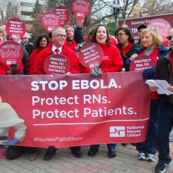 Michigan Nurses Association takes the lead on Ebola preparedness and protections