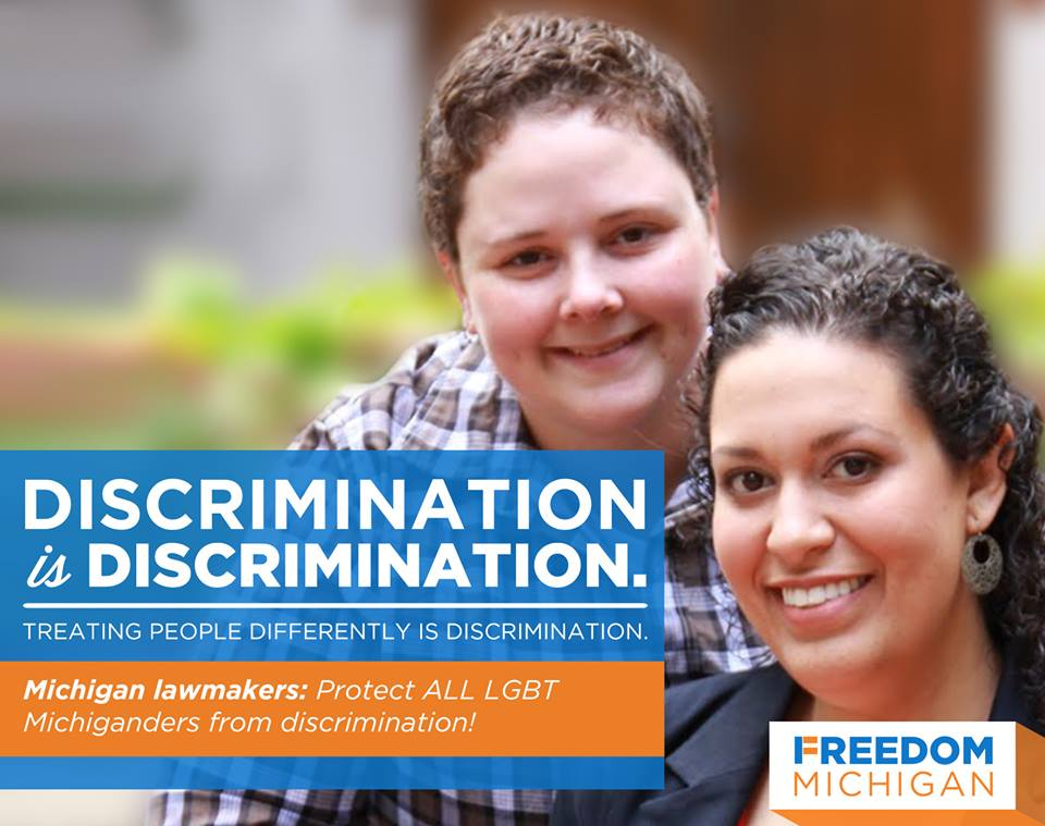 UPDATED: Tell Michigan legislators you want an inclusive non-discrimination law — and no exceptions