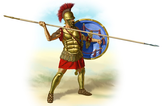 Without irony, tea partier Todd Courser compares himself to gladiators who battled to entertain political sponsors