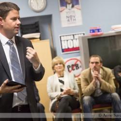 Shutting down Line 5 oil pipeline under the Straits of Mackinac unites MI-01 candidate Lon Johnson with GOP mayor