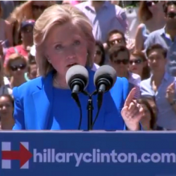 VIDEO & TRANSCRIPT: Hillary Clinton's presidential campaign announcement speech
