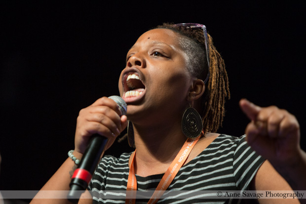 """Post-Netroots Nation reflections on the #BlackLivesMatter protest - it's time to reject """"respectability politics"""""""