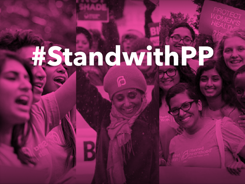 Stand with Planned Parenthood at family planning funding hearing in Lansing Jan. 27