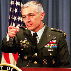"Frmr. Dem presidential candidate Wesley Clark calls for placing ""radicalized"" Muslims in internment/reeducation camps"