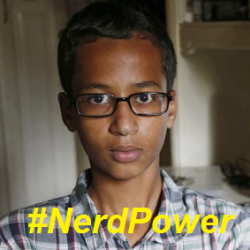 UPDATED: #BigotryLoses – 14-year old science nerd Ahmed Mohamed now country's biggest celebrity