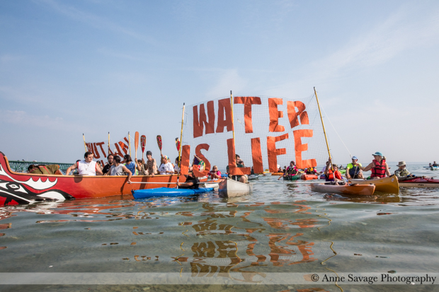 As protesters call for Straits of Mackinac oil pipeline to be shut down, Enbridge promises NOT to do something it's NEVER done