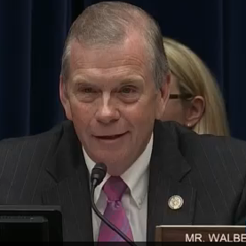 "DISGUSTING REPUBLICAN HYPOCRISY ALERT – Tim Walberg: ""I'm wearing a pink tie in solidarity with women's health issues"""