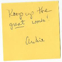 Readers always write. Well, not *always*…