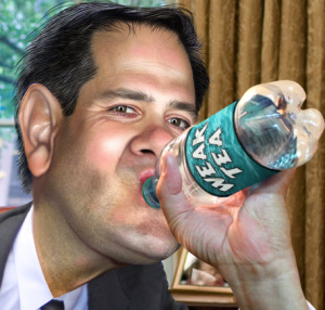 Marco Rubio shows how informed & concerned he is about the #FlintWaterCrisis (spoiler alert: not at all)