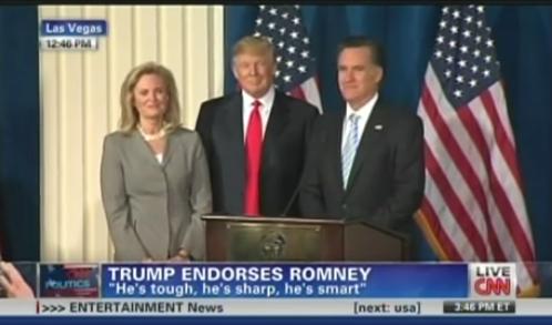 Trump Endorses Romney