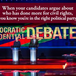 Here's who won the Democratic presidential debate in Flint