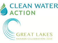 DON'T MISS IT! – Clean Water Action's 2016 Great Lake Awards Celebration next Wednesday, April 13, 2016