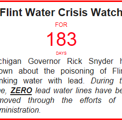 No April Fools: It's been half a year since Gov. Snyder admitted to the #FlintWaterCrisis, still no lead pipes removed