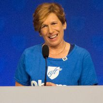 "INTERVIEW – AFT President Randi Weingarten: ""This is the DFT that I remember…the mighty, mighty DFT"