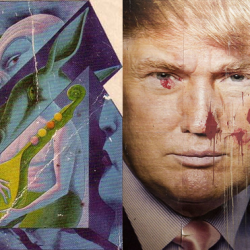 Donald Trump is playing the role of The Mule from Isaac Asimov's Foundation Trilogy