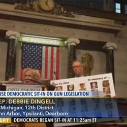 VIDEO: Rep. Debbie Dingell's powerful House floor speech on guns during Democratic sit-down strike