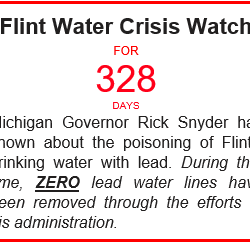 While Gov Snyder and AG Schuette fight in court, still no action to replace lead water lines in the #FlintWaterCrisis