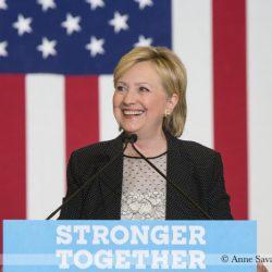 Hillary Clinton in Michigan August 11, 2016.