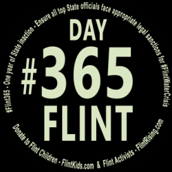 On Day #Flint365 since Gov. Snyder admitted the #FlintWaterCrisis, only 0.7% of lead service lines have been replaced