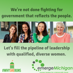 Emerge Michigan extends application deadline in response to high demand from future female leaders