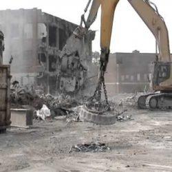 Detroit Redford High School Demolition