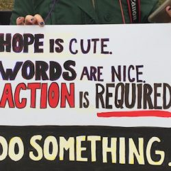 Hope is cute, words are nice, action is required: The many facets of resistance and getting in the way
