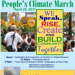 Detroit Joins Hundreds of Thousands to March for Climate Justice
