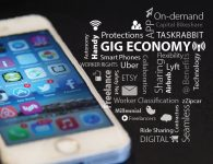 Gig Economy Graphic | by Senator Mark Warner