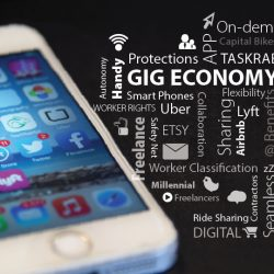 Gig Economy Graphic | by Senator Mark Warner