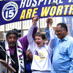 Episode 48 – This movement is about the soul of our country wsg SEIU Pres. Mary Kay Henry & MI-11 candidate Haley Stevens