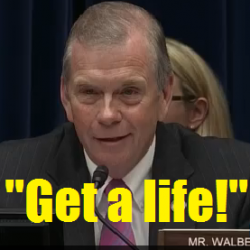 Congressional Sedition Caucus members like Tim Walberg are terrified of their constituents