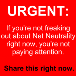 If we don't stop the repeal of net neutrality, a few giant corporations will become the gatekeepers of the internet