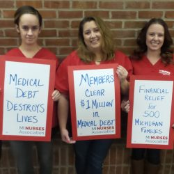Michigan nurses relieve 500 families of $1 million in medical debt