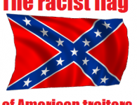 Michigan high school punk flies the racist flag of American traitors because his fee-fees got hurt