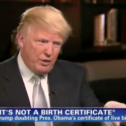 Birtherism is the governing philosophy of the GOP