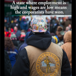 Why Democrats should actively fight for stronger unions & a higher minimum wage: Low unemployment + low wages = Corporate utopia