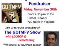 Announcing the 2018 Eclectablog Annual Fundraising Party with special guest Jordan Zakarin from Progressives Everywhere!
