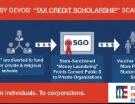 Betsy DeVos' Zombie Voucher Schemes — the Unconstitutional, Undemocratic Tax Scams That Just Won't Die