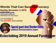 Eclectablog 2019 Annual Fundraiser update: Our first round of sponsors!